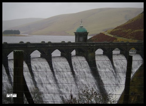 Dam.  Looks wet.  Wet and cold.  Wet and cold and windy.