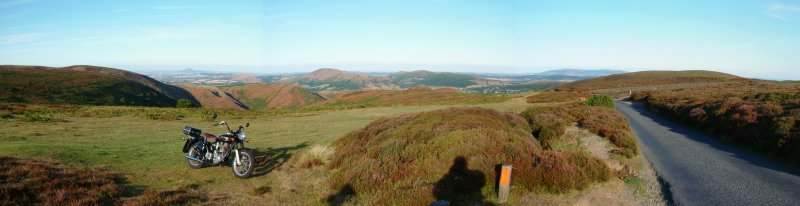 The Bullet on the top of the Long Mynd