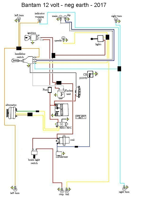 6 volt wiring diagram  6  free engine image for user